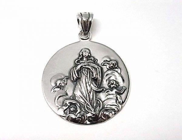 30-Colgante-medalla-Inmaculada-600x462 Colgante medalla Inmaculada