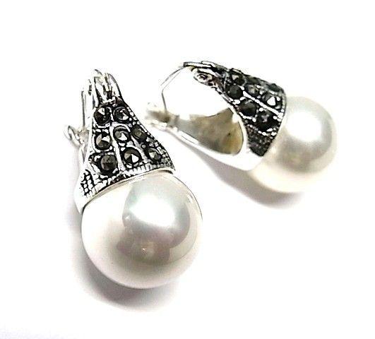 5649-Pendiente-perla-color Pendiente perla color