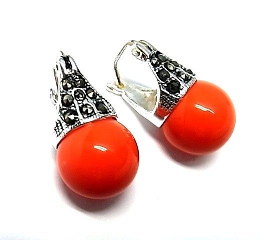 5651-Pendiente-perla-color Pendiente perla color