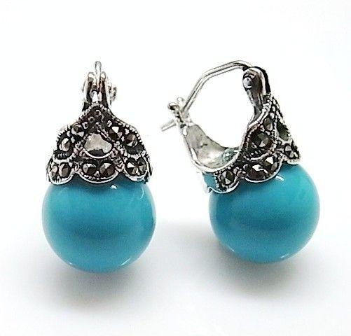 8630-Pendiente-perla-color Pendiente perla color