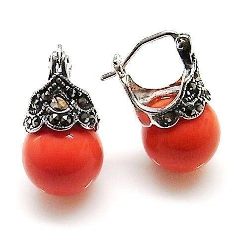 8631-Pendiente-perla-color Pendiente perla color