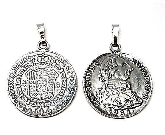 8169-Colgante-moneda Colgante moneda