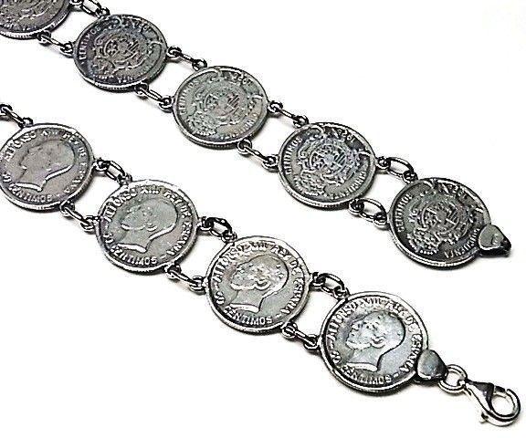 10509-Pulsera-lisa-moneda Pulsera lisa moneda