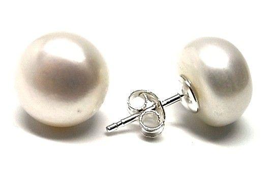 6912-Pendiente-perla-boton-12mm Pendiente perla botón 12mm