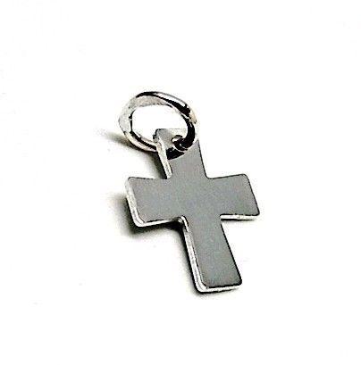 8080-Colgante-liso-cruz Colgante liso cruz