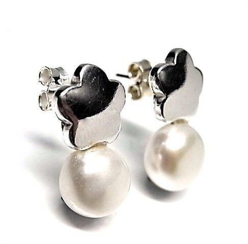 6189-Pendiente-perla Pendiente perla