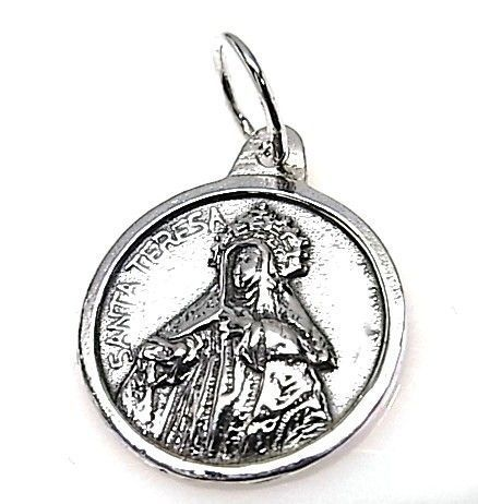 10299-Colgante-medalla-Sta.-Teresa Colgante medalla Sta. Teresa