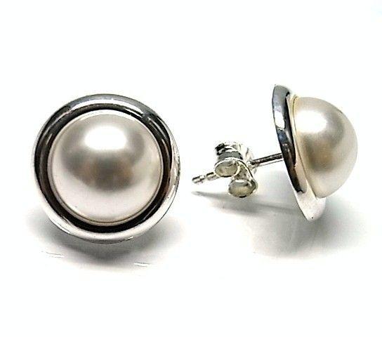6151-Pendiente-perla-color Pendiente perla color