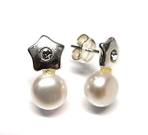 6264-Pendiente-perla Pendiente perla