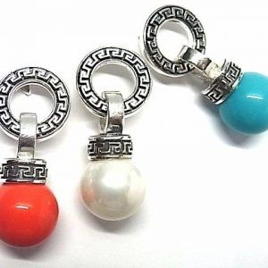 2259-Pendiente-perla-color-300x300 Pendiente perla color