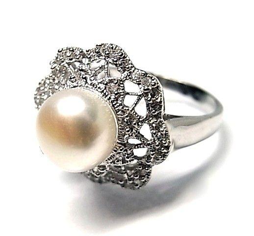 5929-Sortija-perla-rodiada Anillo perla rodiada