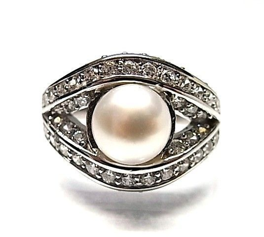 5942-Sortija-perla-rodiada Sortija perla rodiada