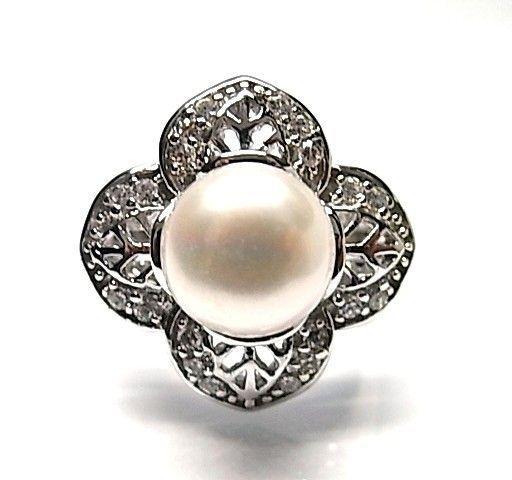 5947-Sortija-perla-rodiada Anillo perla rodiada