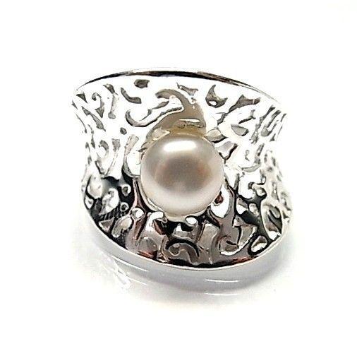 5916-Sortija-perla-plata Anillo perla plata