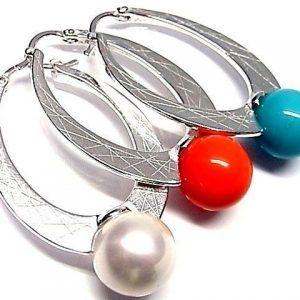6132-Pendiente-aro-perla-color-300x300 Pendiente aro perla color