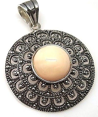 7686-Colgante-perla-color Colgante perla color