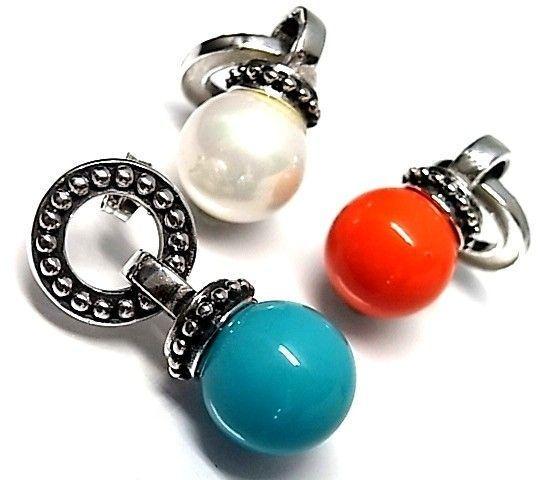 6177-Pendiente-perla-color Pendiente perla color
