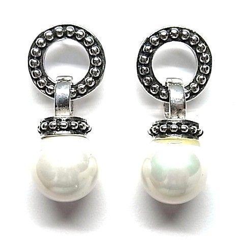 6178-Pendiente-perla-color Pendiente perla color
