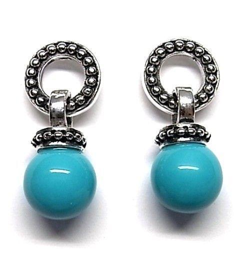 6179-Pendiente-perla-color Pendiente perla color
