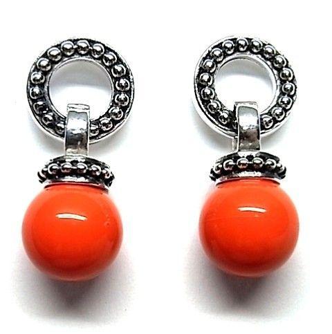6180-Pendiente-perla-color Pendiente perla color