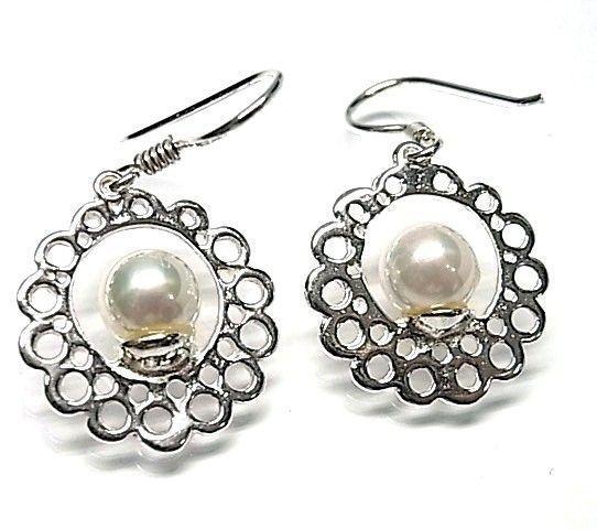 6269-Pendiente-perla Pendiente perla