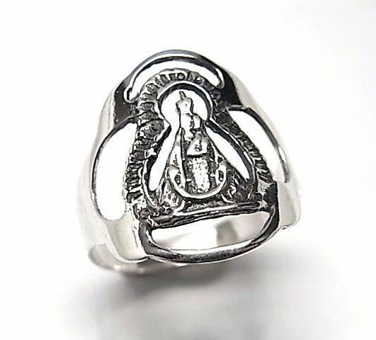 5552-Sortija-lisa-Virgen-de-la-Cabeza Anillo liso Virgen de la Cabeza