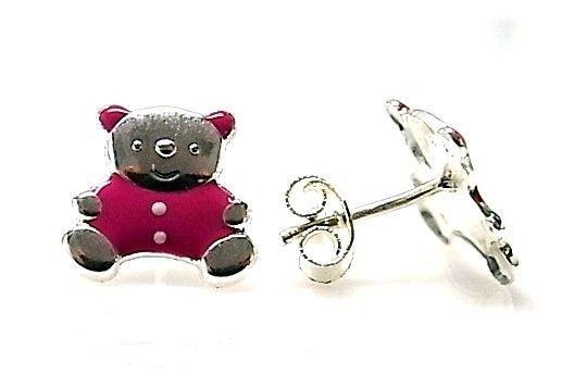 7241-Pendiente-esmalte-oso Pendiente esmalte oso