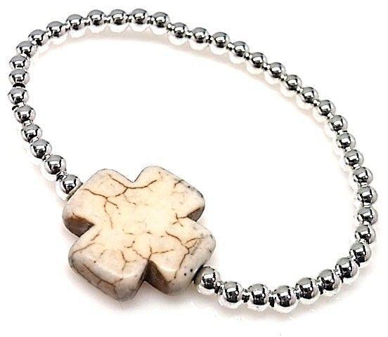 10096-Pulsera-elastica-cruz Pulsera elástica cruz