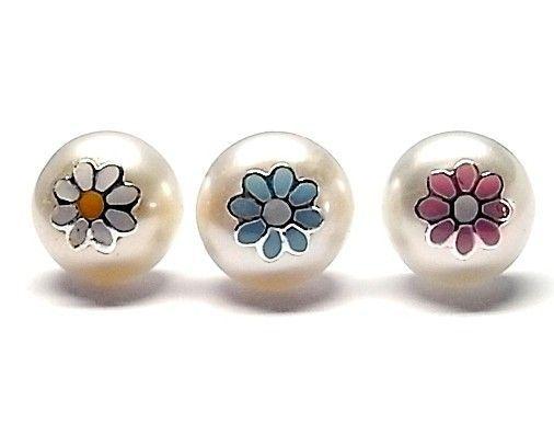 7213-Pendiente-perla-esmalte Pendiente perla esmalte