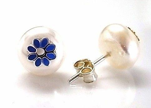 7215-Pendiente-perla-esmalte Pendiente perla esmalte