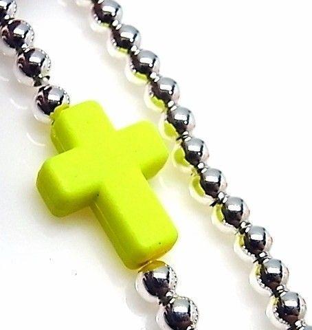 10131-Pulsera-elastica-cruz Pulsera elástica cruz