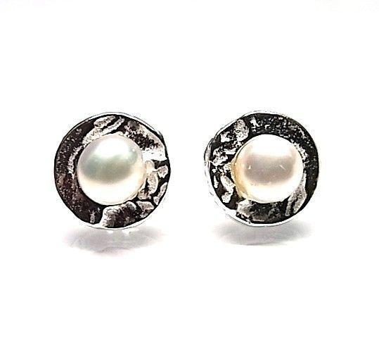 6014-Pendiente-perla Pendiente perla