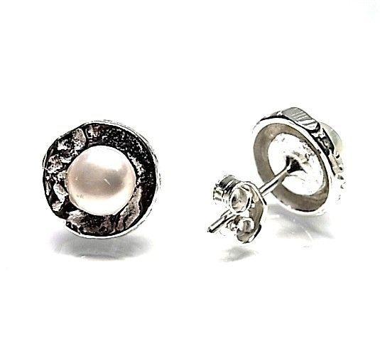 6015-Pendiente-perla Pendiente perla