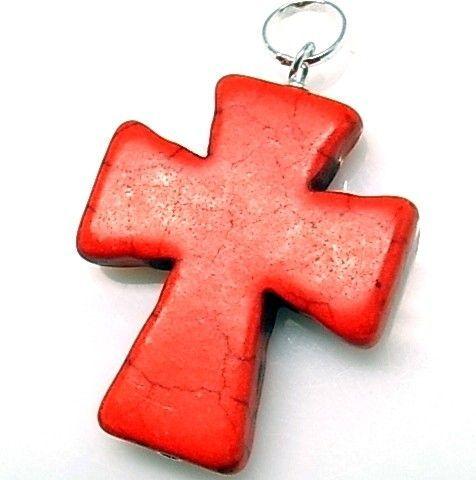 10213-Colgante-cruz-piedra-color Colgante cruz piedra color