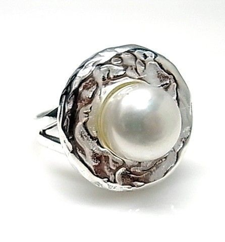 11802-Sortija-perla-boton Anillo perla botón