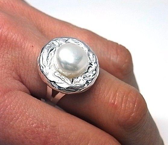 11803-Sortija-perla-boton Anillo perla botón