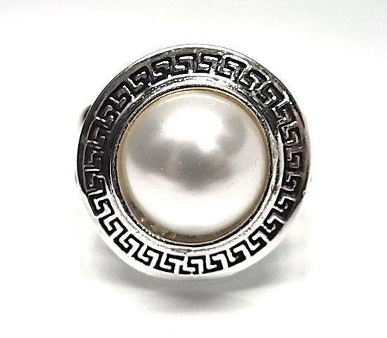5873-Sortija-greca-oxy-perla Anillo greca oxy perla