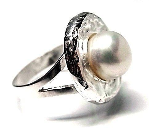 8429-Sortija-perla-boton Anillo perla botón