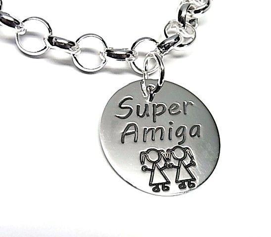 "5220-Colgante-Super-amiga Colgante ""Super amiga"""