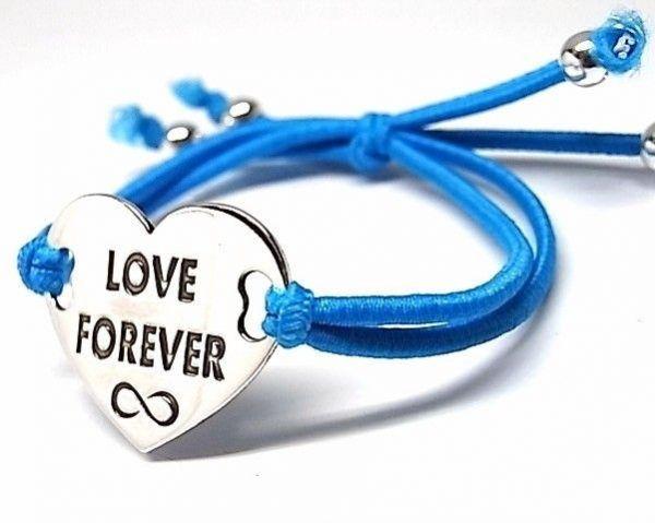 """6512-Pusera-corazon-LOVE-FOREVER-infinito-600x479 Pulsera corazón """"LOVE FOREVER"""" infinito"""