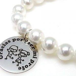 """10158-Pulsera-Gracias-por-ser-mi-profe-perla-300x300 Pulsera """" Gracias por ser mi profe"""" perla"""