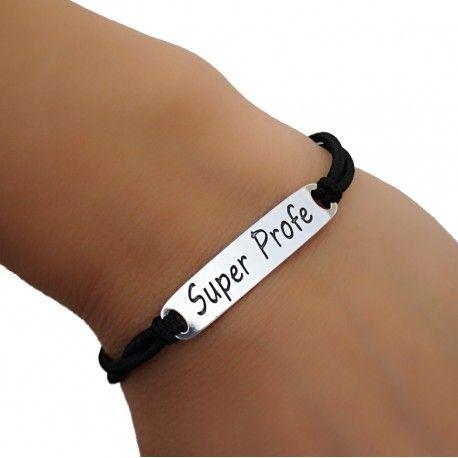 "27079 Pulsera""Super profe"""
