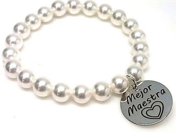 """10673-Pulsera-perla-mejor-maestra-600x450 Pulsera perla """" mejor maestra"""""""