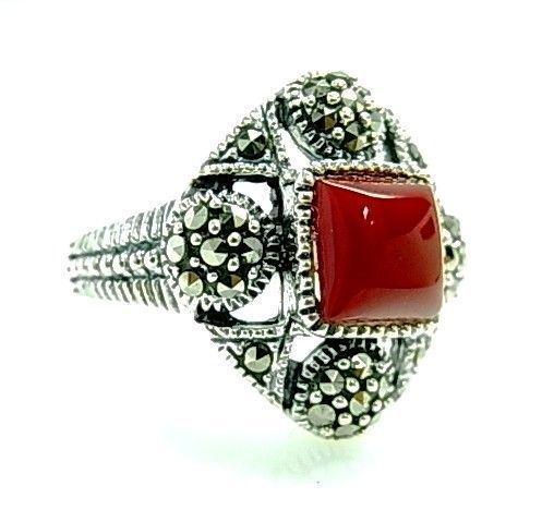 8445-Sortija-marquesitas-piedra-color Anillo marquesitas piedra color