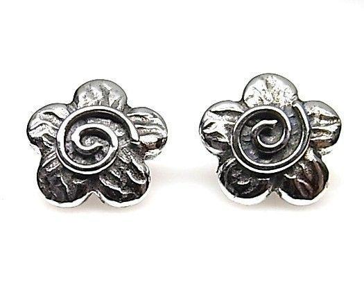 11215-Pendiente-flor-espiral Pendiente flor espiral