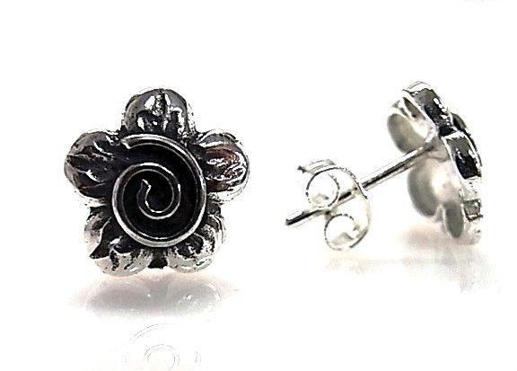 9188-Pendiente-flor-espiral Pendiente flor espiral