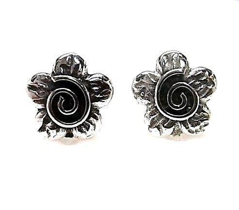 9189-Pendiente-flor-espiral Pendiente flor espiral