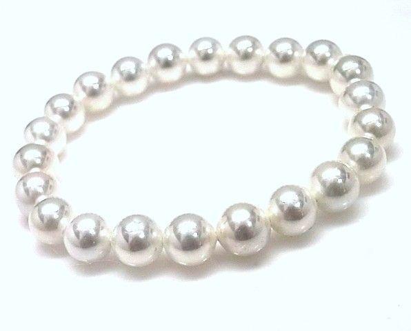 9203-Pulsera-elastica-perlas-redondas Pulsera elástica perlas redondas