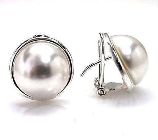 10528-Pendiente-perla-14mm Pendiente perla 14mm