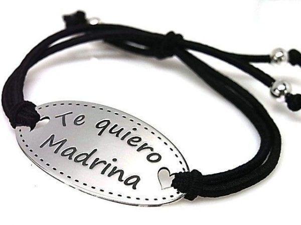 10852-Pulsera-goma-Te-quiero-madrina-600x450 Pulsera goma Te quiero madrina